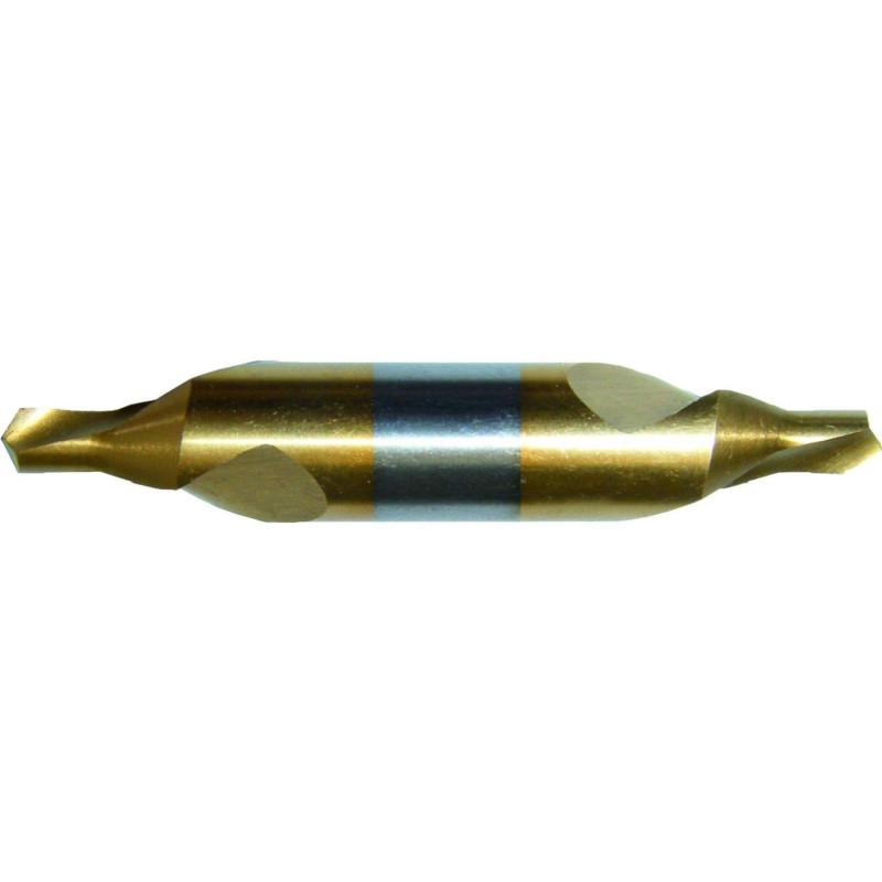 Nawiertaki zwykłe DIN 333-A HSS pokrywane TiN
