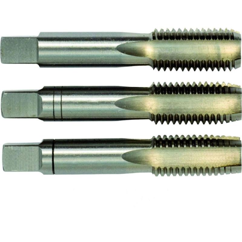 Gwintowniki ręczne DIN 352 HSSE (INOX) kpl/3szt