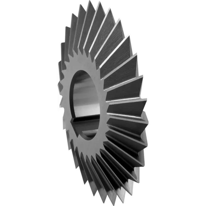 Frezy krążkowe kątowe dwustronne symetryczne DIN 847 HSSCo5 / kobaltowe